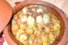Tajine de coings Patate douce et Raisin