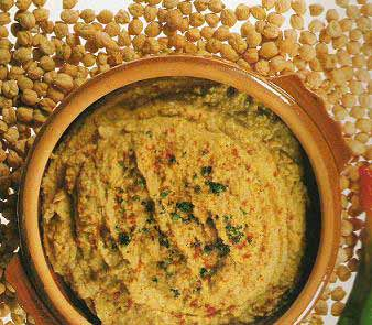 PUREE DE POIS CHICHES AU SESAME